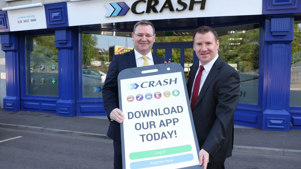 CRASH SERVICES LAUNCH THEIR NEW APP