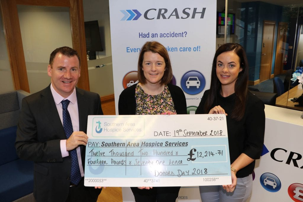 CRASH raise 12000 for southern area hospice