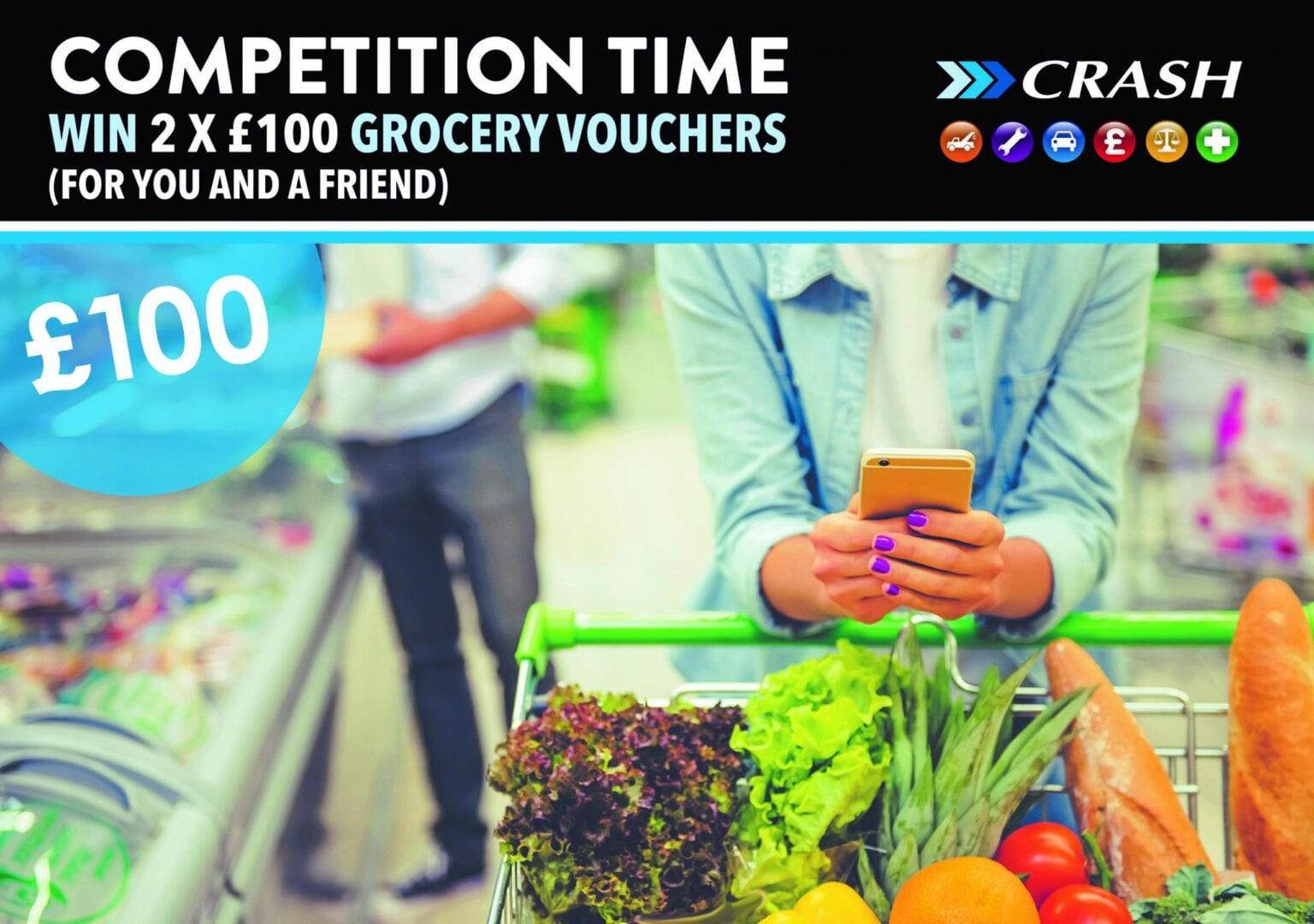 competition to win grocery vouchers