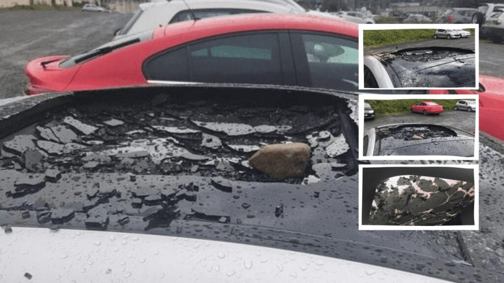 car vandalised in newry car park