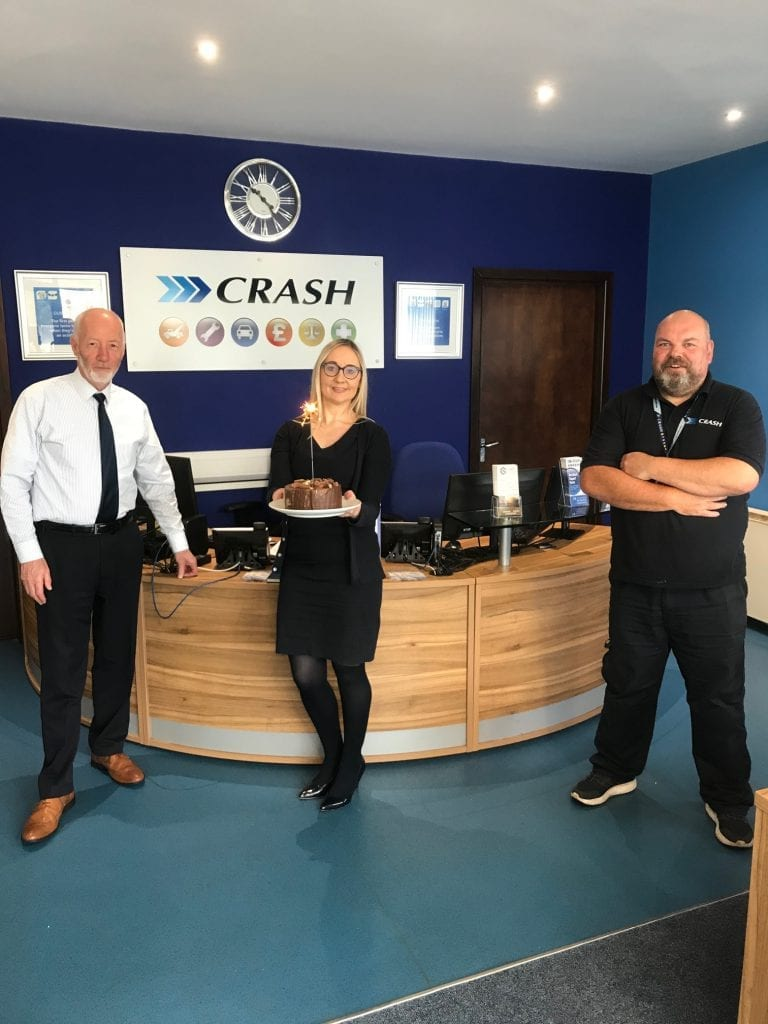 Staff at CRASH Services Derry/Londonderry