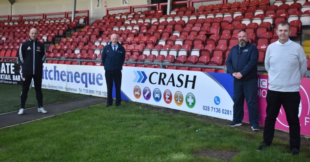 CRASH Services sponsor Derry City F.C.